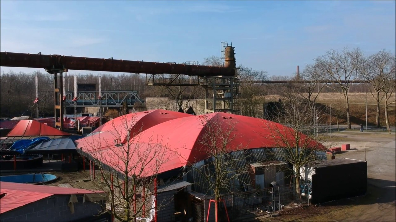 71 Delta Musik Park Disco Tentorium Mit Drohne Uberflogen