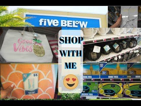 SHOP WITH ME AT FIVE BELOW| FULL STORE WALK THROUGH + SMALL HAUL| Megan Navarro