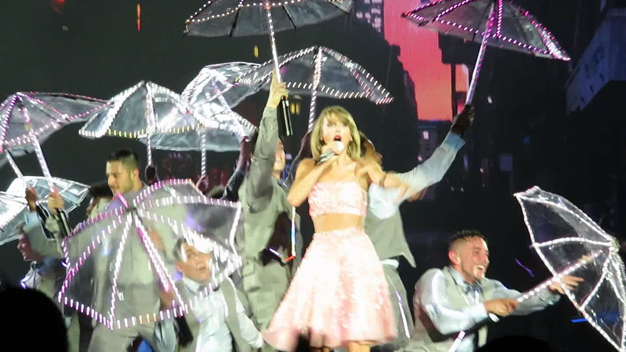 Taylor swift 1989 tour sg how you get the girl