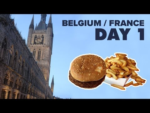 BB News 2016/17 - Belgium & France Trip - Day 1