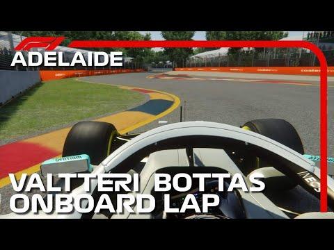 Valtteri Bottas Onboard Lap | 2020 Adelaide Grand Prix