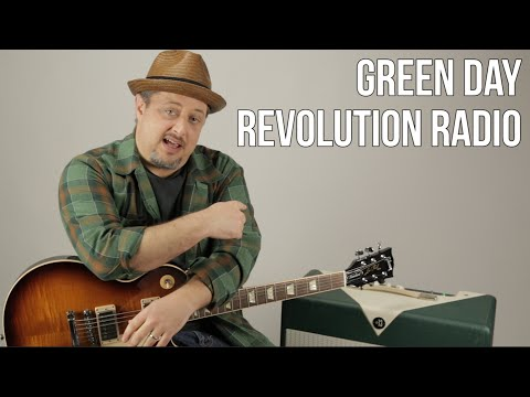 Green Day - Revolution Radio - Guitar Lesson - How to Play - Tutorial, Riff, Chords, Rhythm