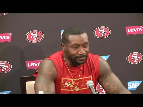 Raw Video: NaVorro Bowman Reports To 49ers Training Camp