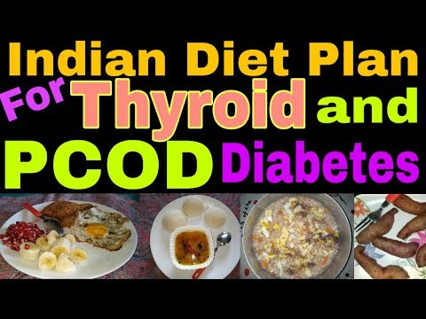 Indian Diet Plan for Thyroid Pcod Diabetes|How To Loose Weight Fast 10kgs In 10 Days|Veg Meal Plan