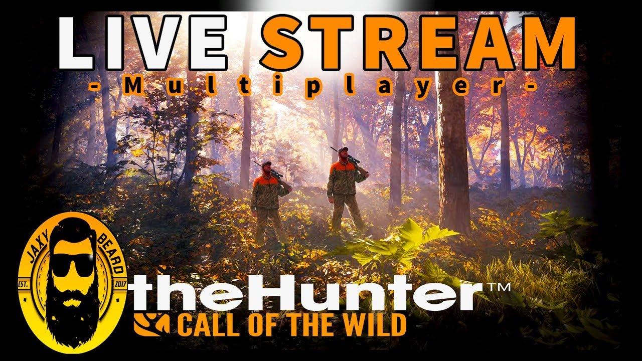 Multiplayer Sub Hunt on Hirschfelden in theHunter Call of the Wild