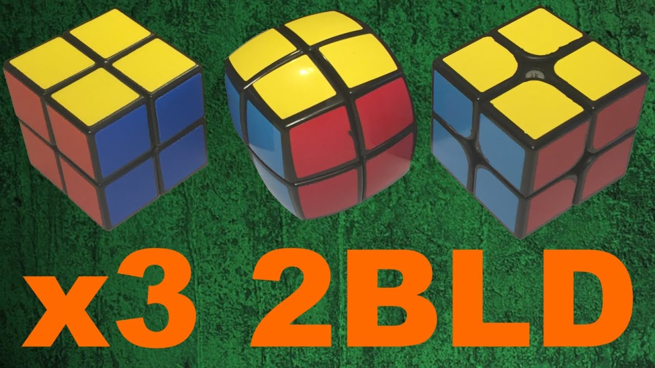 Solving 3 2x2's Blindfolded all at Once!