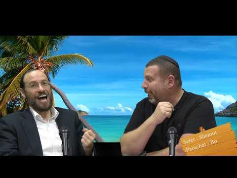 Sefer Shemot : PARACHAT BO (15) avec le duo Rav Brand et Fabrice