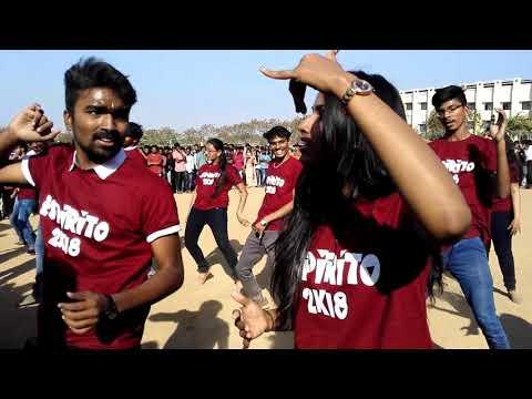 Flash mob | Espirito 2k18 | Malla Reddy engineering college