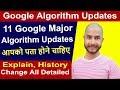 SEO - Part 85 |  11 Major Google algorithm updates 2019 ( Part 1 - Seo Google Algorithm )