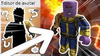 HOW TO TURN THANOS into ROBLOX! (with 10 Robux)