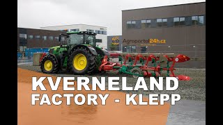 KVERNELAND plough production - factory Klepp, Norway