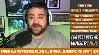 ⛳ PGA Tour Picks and Predictions | Genesis Invitational | Carlos Ortiz vs Matthew Wolff H2H Matchup