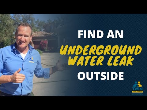 How To Find An Underground Water Leak?