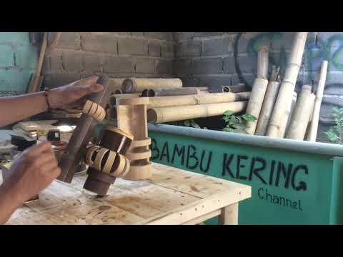 TERBARU,!!! Model Lampu Dinding Minimalis dari Bambu