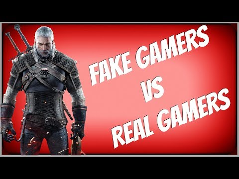 Fake Gamers & Casuals Rant! Why I am A Real Gamer And Why You're Not!
