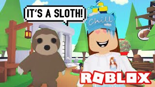 New SLOTH Update in Adopt me (Roblox) 2X Weekend, Double the Money & Age | Its SugarCoffee