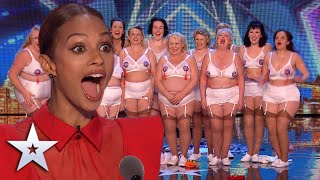 These STRONG women deliver a FABULOUS dance act I Auditions I BGT Series 9