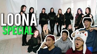 Gambar cover LOONA SPECIAL (Butterfly, Cherry bomb + Fire cover Reactions)