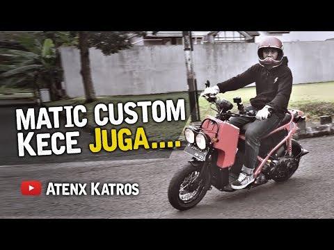 Matic Custom I Ruckus Rasa Suzuki Spin [Garage Vlog]