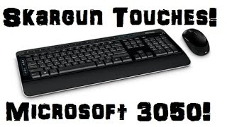 Microsoft Wireless 3050 Keyboard Mouse Combo Unboxing