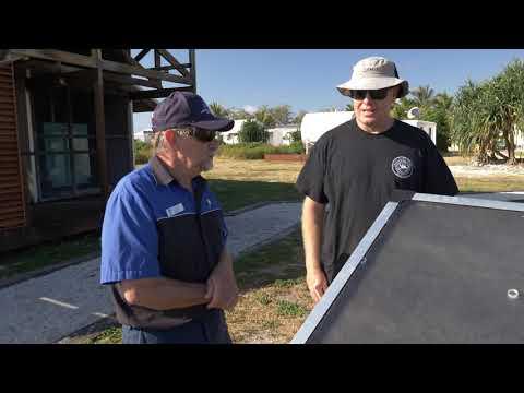 Lady Elliot Solar water maker