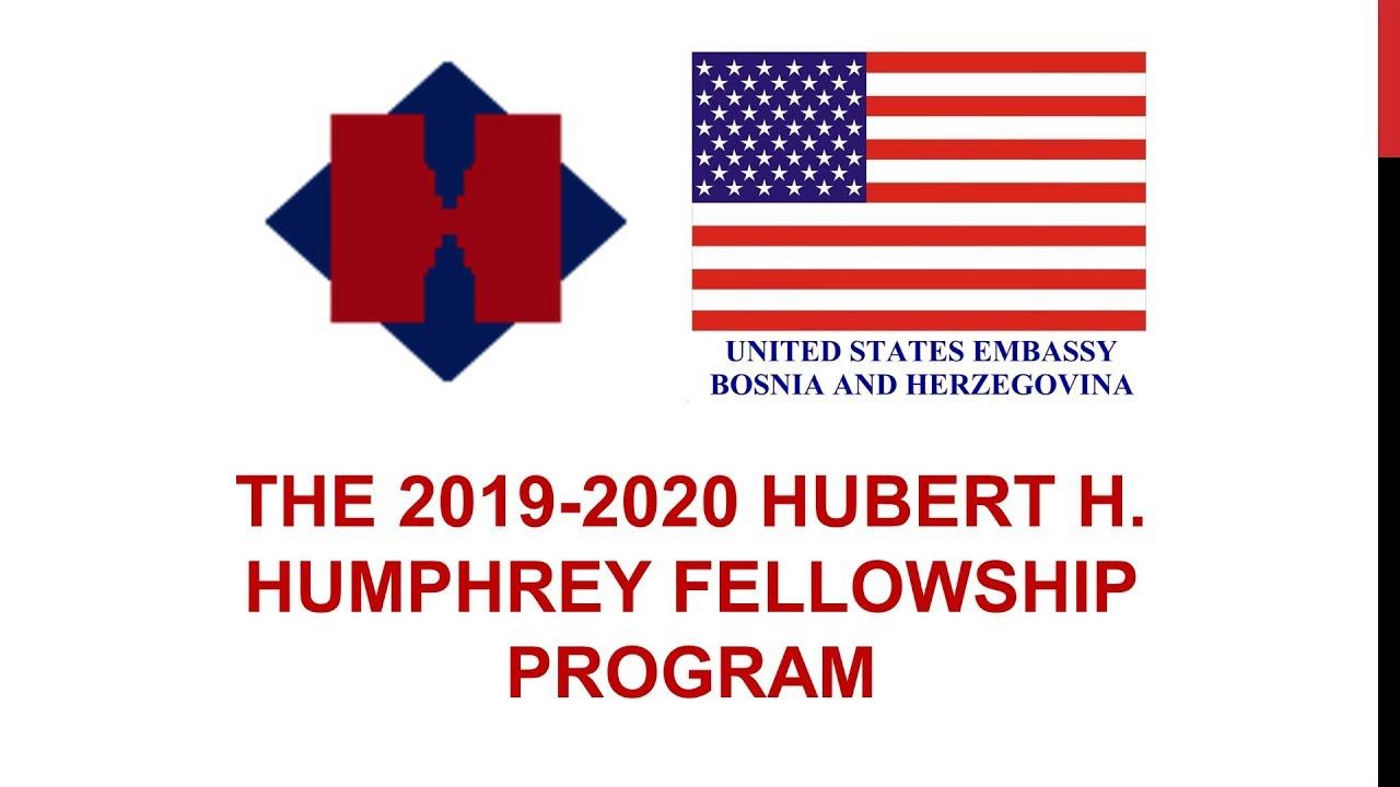 2019-2020 Hubert H  Humphrey Fellowship Program