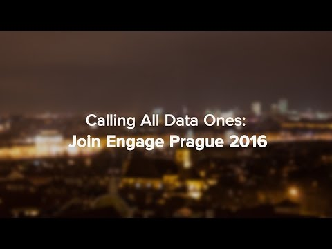 Data Ones Gather in Prague for #Engage2016: Social Media Minute