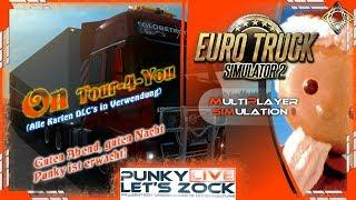 ETS2: #ontour4you [Euro Truck Simulator 2] LIVE Multiplayer SIM 1 [GAMEPLAY] deutsch