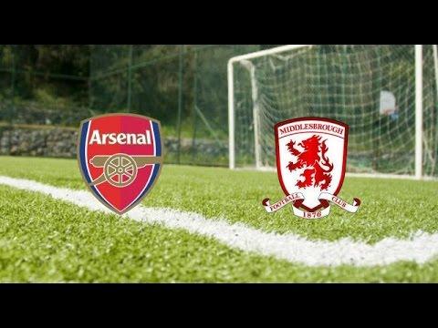 Premier League. Arsenal v Middlesbrough - Арсенал - Мидлсбро video