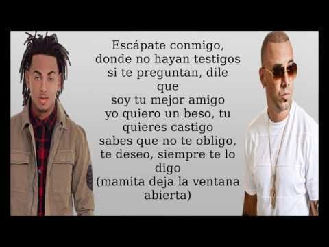 Wisin  Escapate Cmigo Ft Ozuna Letra