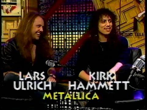 Metallica - Lars Ulrich & Kirk Hammett on 'MTV Rockline' (1991) [Full Interview]