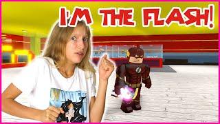 BECOMING THE FLASH!!! I'M A SUPER HERO!