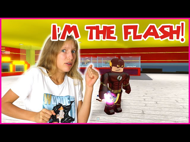 BECOMING THE FLASH!!! IM A SUPER HERO!