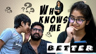 Who Knows Me Better Part-1 | Sahithi | Vinni | SekharStudio