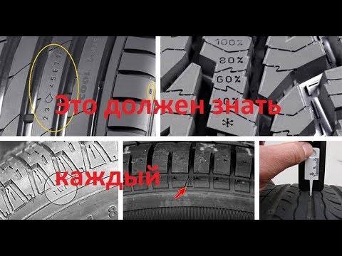 Важно! Индикаторы износа протектора на вашем колесе