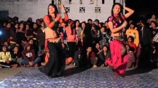 beautiful third gender dancers binita and awantika