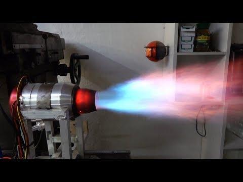 Три эксперимента с Турбореактивными движками в гараже