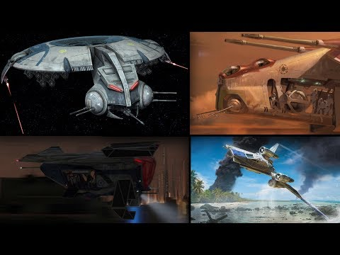All Gunship Types and Variants  Star Wars Explained