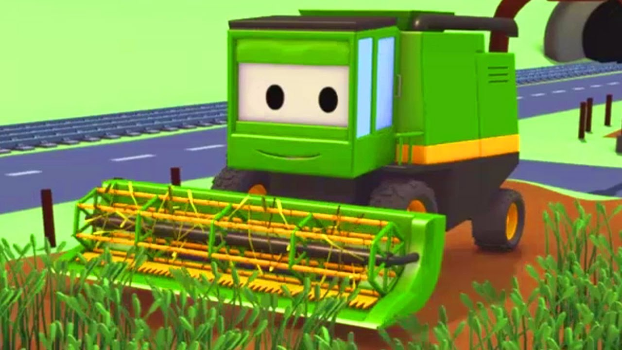 Download Harvey the Harvester and his friends in Car City: Tom the Tow Truck, Troy the Train and more Trucks