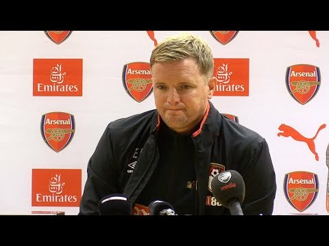 Arsenal 3-0 Bournemouth - Eddie Howe Full Post Match Press Conference - Premier League