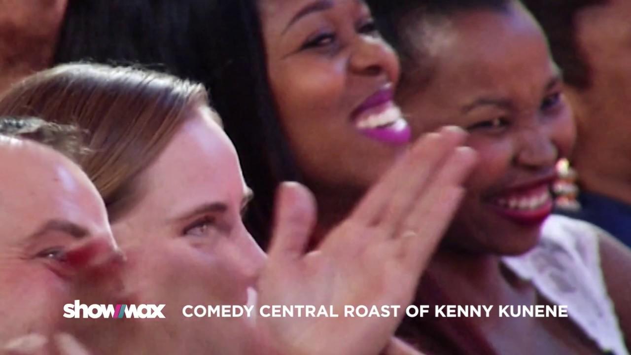 Roast of Kenny Kunene on Showmax Best of Jimmy Carr