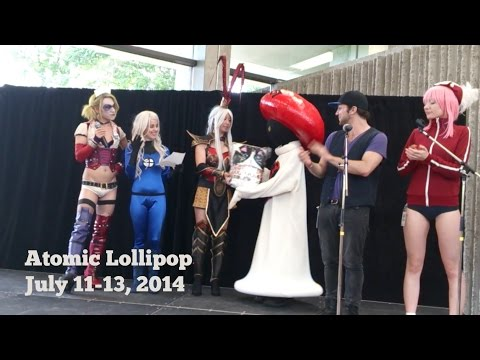 Atomic Lollipop 2014: Cosplay, Performances & General Con Footage by Northern Belle Rogue