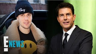 Justin Bieber Challenges Tom Cruise to a Fight | E! News