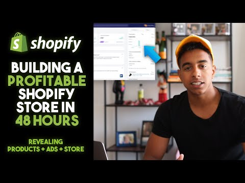 Building a Profitable Shopify Dropshipping Store in 48 Hours [Product + Ads Revealed] thumbnail