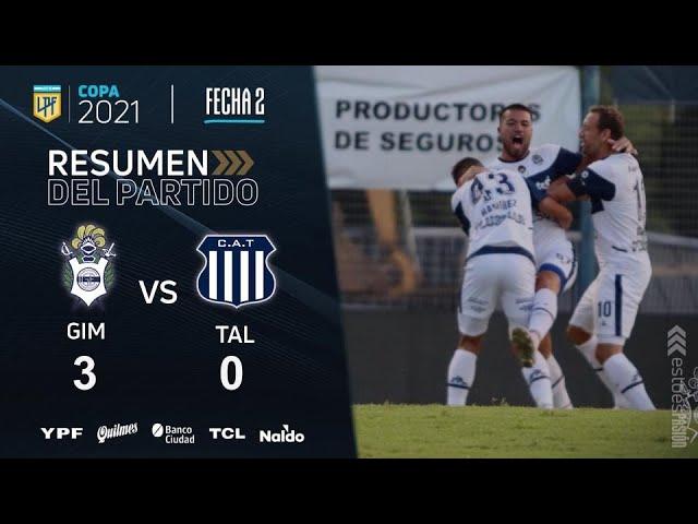 Copa De La Liga   Fecha 2   resumen de Gimnasia - Talleres