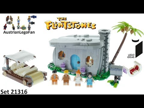 Lego Ideas 21316 The Flintstones Speed Build