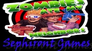 ZOMBIES ATE MY NEIGHBORS - COMPLETE GAME [HARD] SNES
