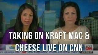 Food Blogger Vani Hari Take On Kraft Mac & Cheese: Live Interview On Cnn