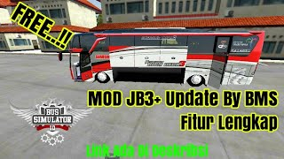 REVIEW AND SHARE MOD JB3 UPDATE BY MBS BUSSID V2 9