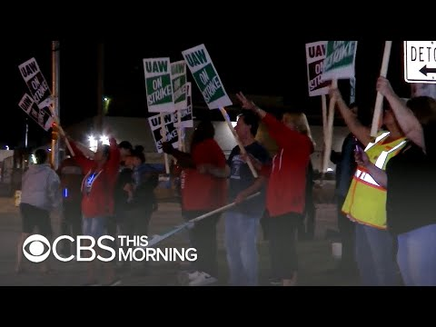 """Thousands of auto workers strike against GM: """"We stood up for GM when they needed us"""""""